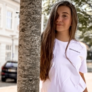 White tee is always a good look👌   Add:  The best quality🥇 Organic cotton🌱 Excellent cut ✂️  This is how you get a PERFECT T-shirt 💎  #whitetee #organiccotton #whitetshirt #classictshirt #classiclook #tee #polishbrand #bestquality #embroidery  #copenhagen #wildhabits #whomademyclothes #sustainablefashion #organictshirt #szytewpolsce #polskamarka #polskametka #hygge #igdenmark